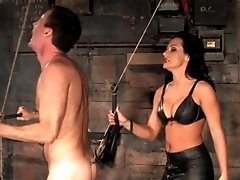 Mistress Sandra Romain fucks Bill`s ass